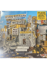 King Gizzard And The Lizard Wizard With Mild High Club ‎– Sketches Of Brunswick East , 2020 Reissue, Yellow w/ Blue Splatter