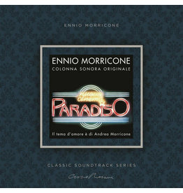 Ennio Morricone – Nuovo Cinema Paradiso , Limited Edition, Numbered, 2020 Reissue, Yellow, 180g (Music On Vinyl)