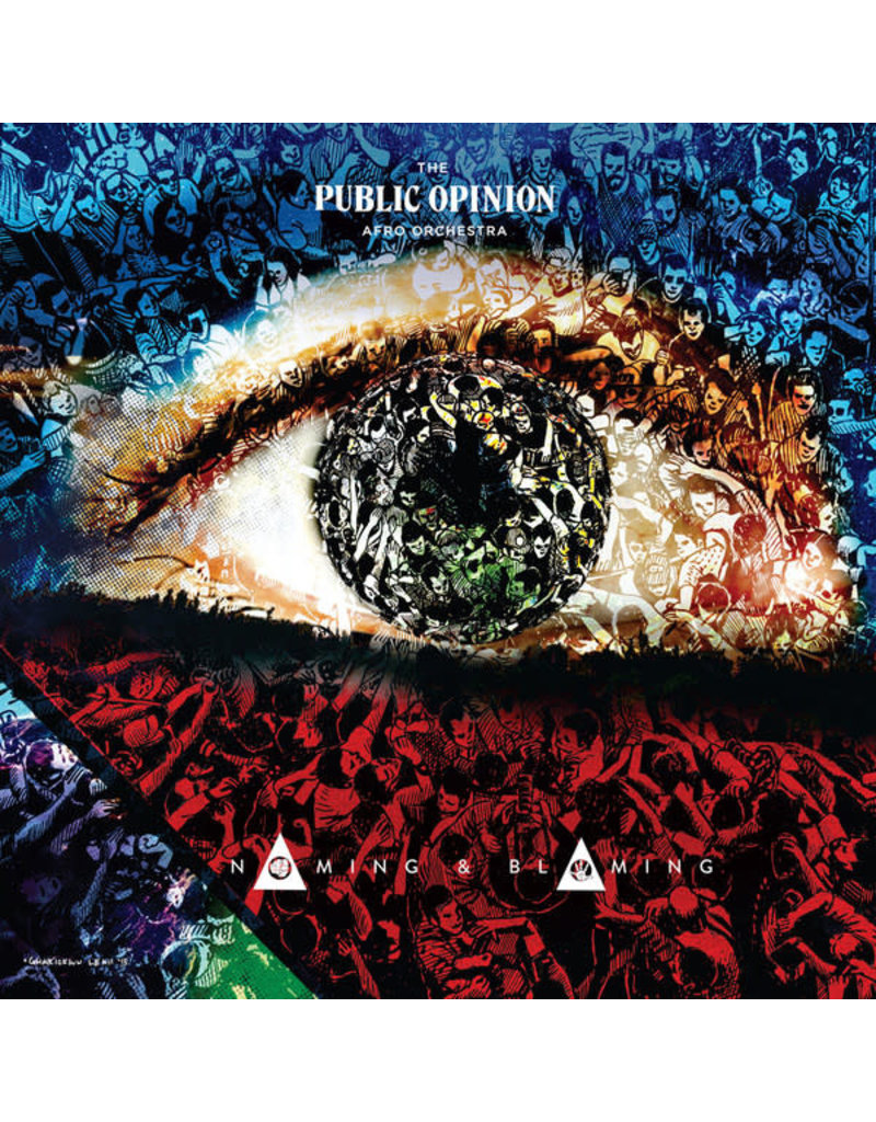 AF The Public Opinion Afro Orchestra – Naming & Blaming LP (2018)