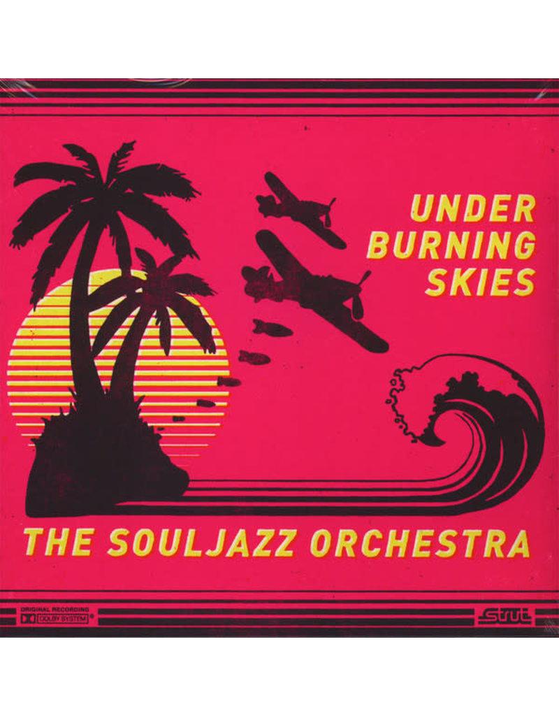 FS The Souljazz Orchestra – Under Burning Skies , Translucent Yellow Vinyl (2017)