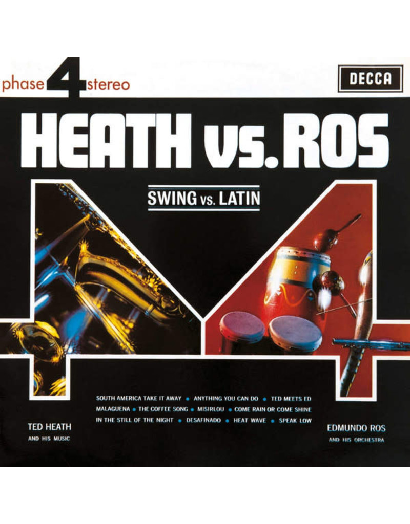 LA Ted Heath Vs. Edmundo Ros ‎– Swing Vs. Latin 2LP
