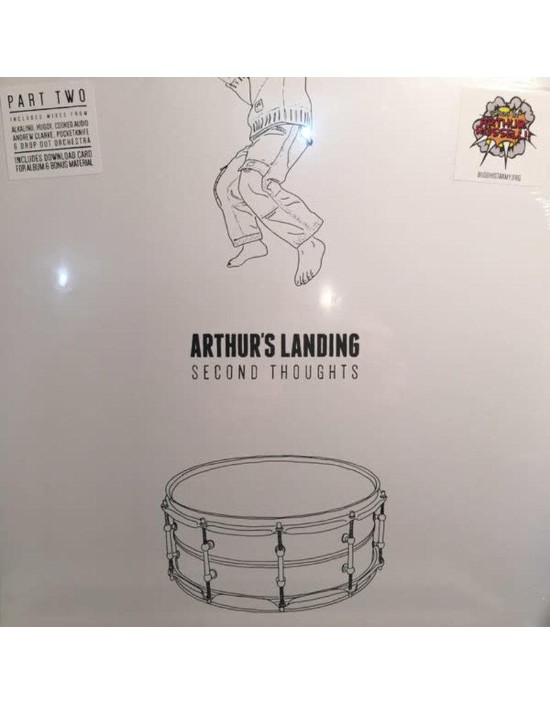 """EL Arthur's Landing – Second Thoughts Part 2 12"""" (Blue Vinyl)"""
