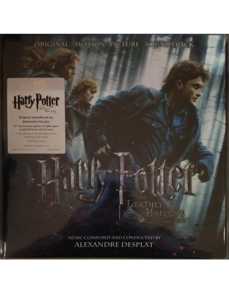 Alexandre Desplat ‎– Harry Potter And The Deathly Hallows Part 1 OST (Music On Vinyl)