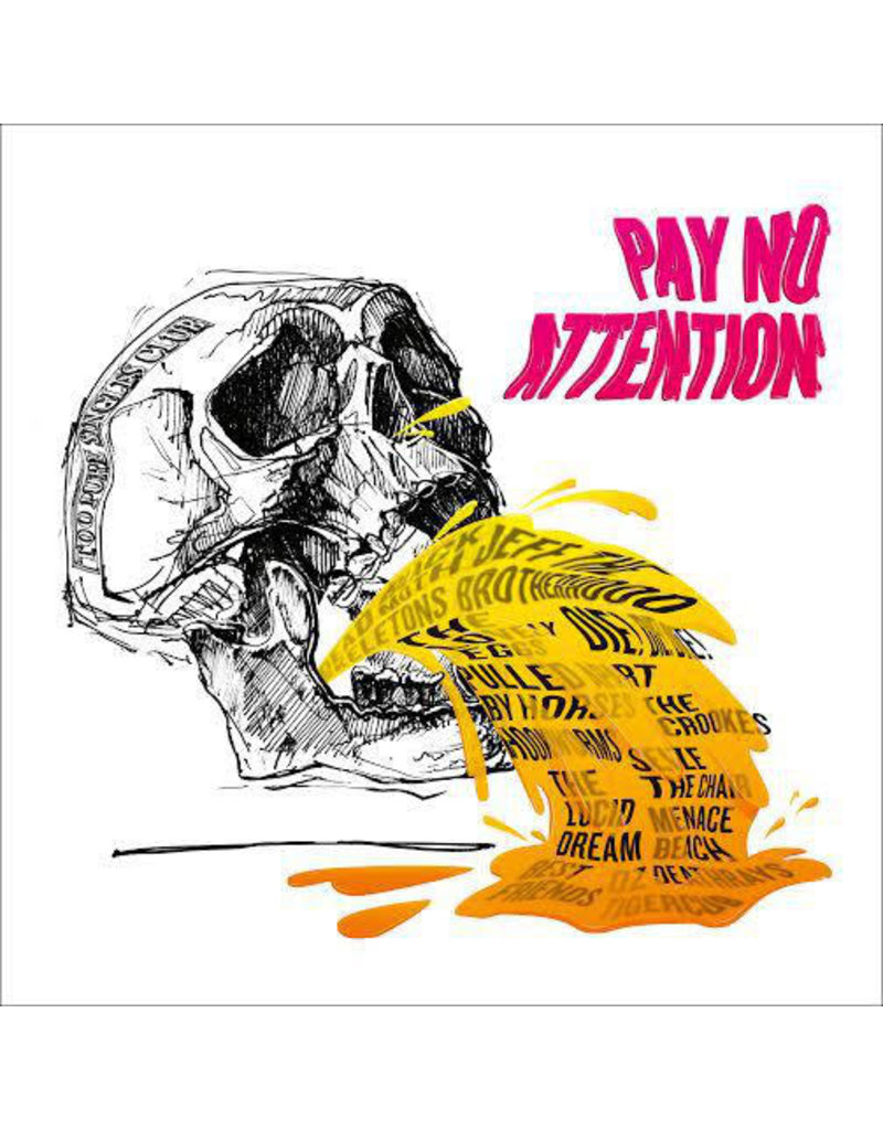 RK Various – Pay No Attention (2016) Compilation, Limited Edition, Pink
