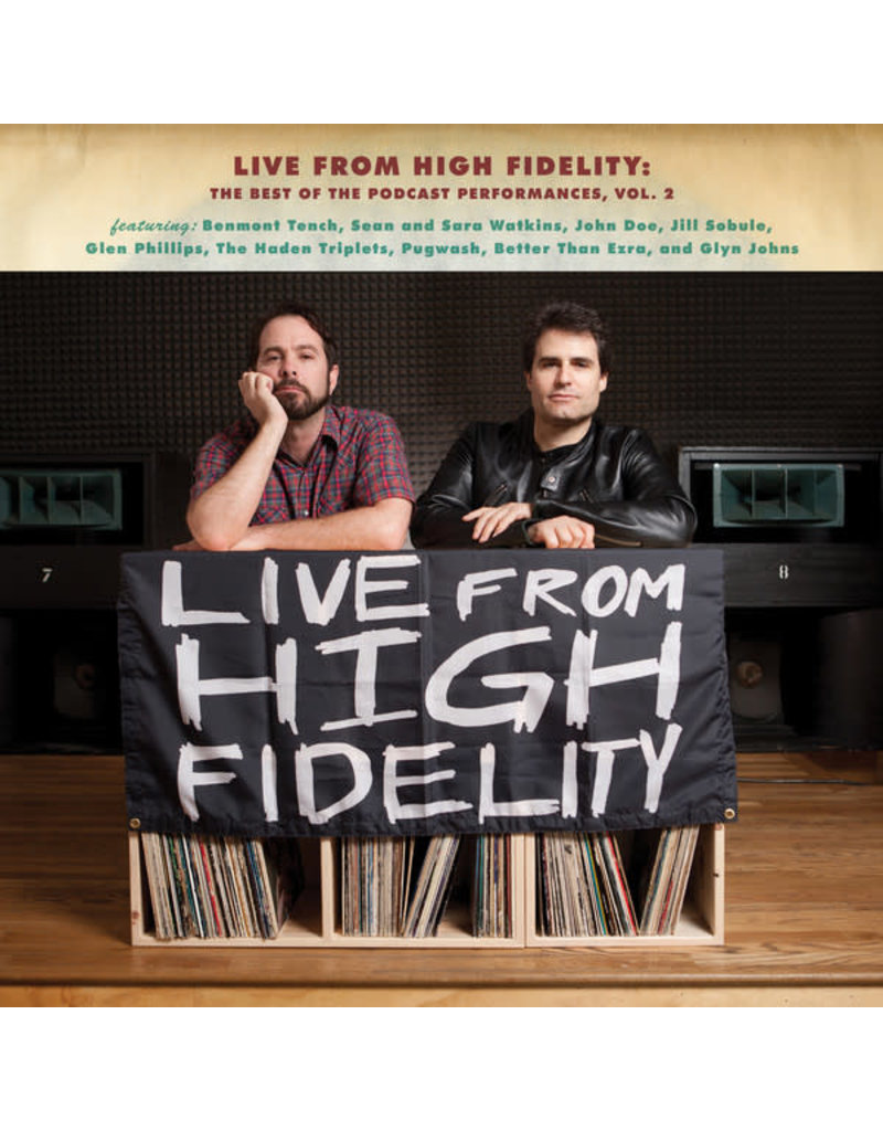 RK V/A - Live From High Fidelity: The Best Of The Podcast Performances, Vol. 2 [RSD2015], Limited 1000