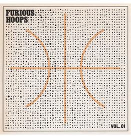 RK Various – Furious Hoops Vol. 01 LP [RSD2015] Limited 500 Numbered, Orange Vinyl