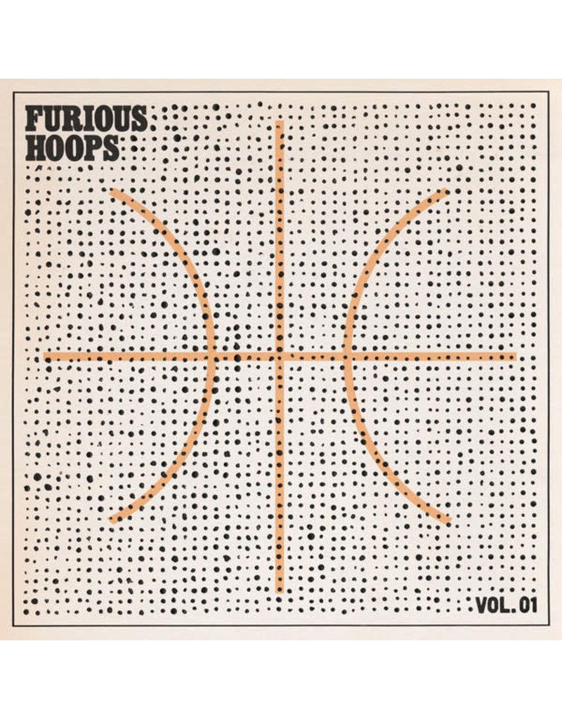 RK V/A - Furious Hoops Vol. 01 LP [RSD2015] Limited 500 Numbered, Orange Vinyl