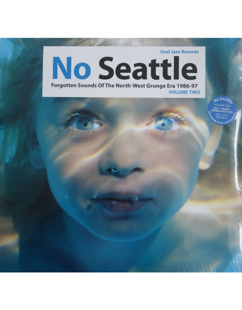 RK V/A - No Seattle Volume 2: Forgotten Sounds Of The North-West Grunge Era 2LP (2014 Compilation)