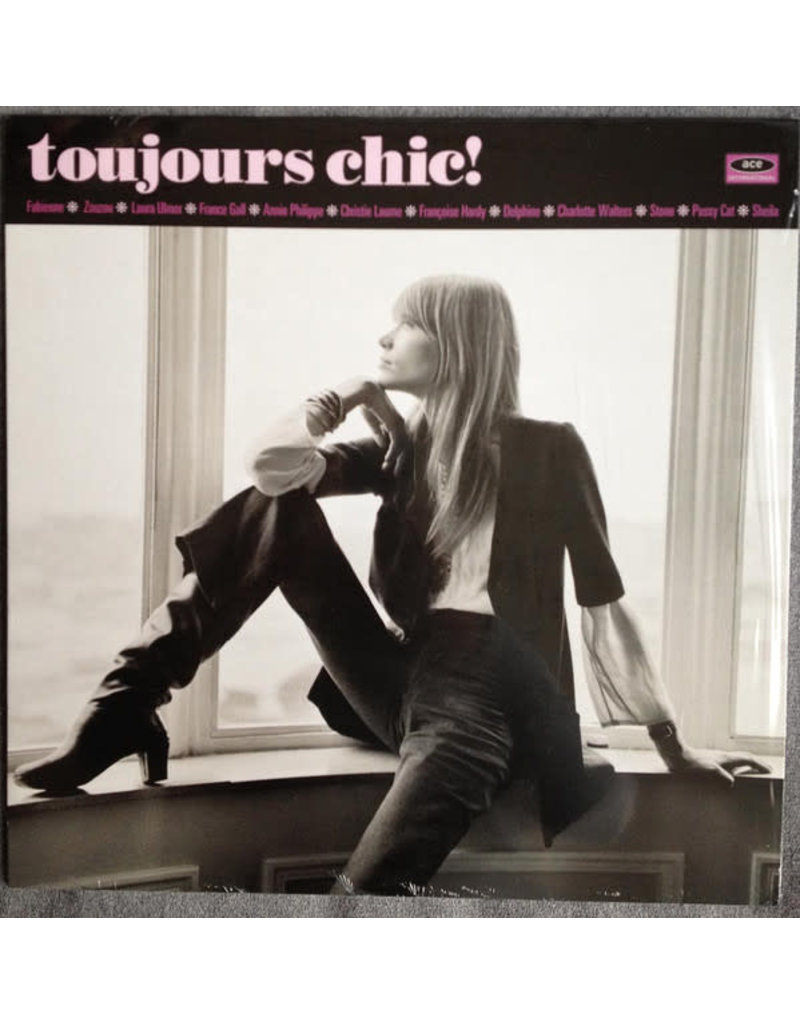 RK V/A - Toujours Chic! More French Girl Singers Of The 1960's (180g) LP (2015), Compilation, Lavender Vinyl