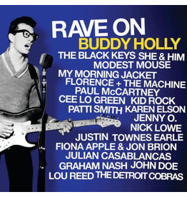 RK Various – Rave On Buddy Holly 2LP(2011) Compilation, Limited Edition