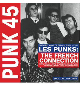 PU Various – Punk 45: Les Punks: The French Connection (The First Wave Of French Punk 1977-80) 2LP (Soul Jazz Records)