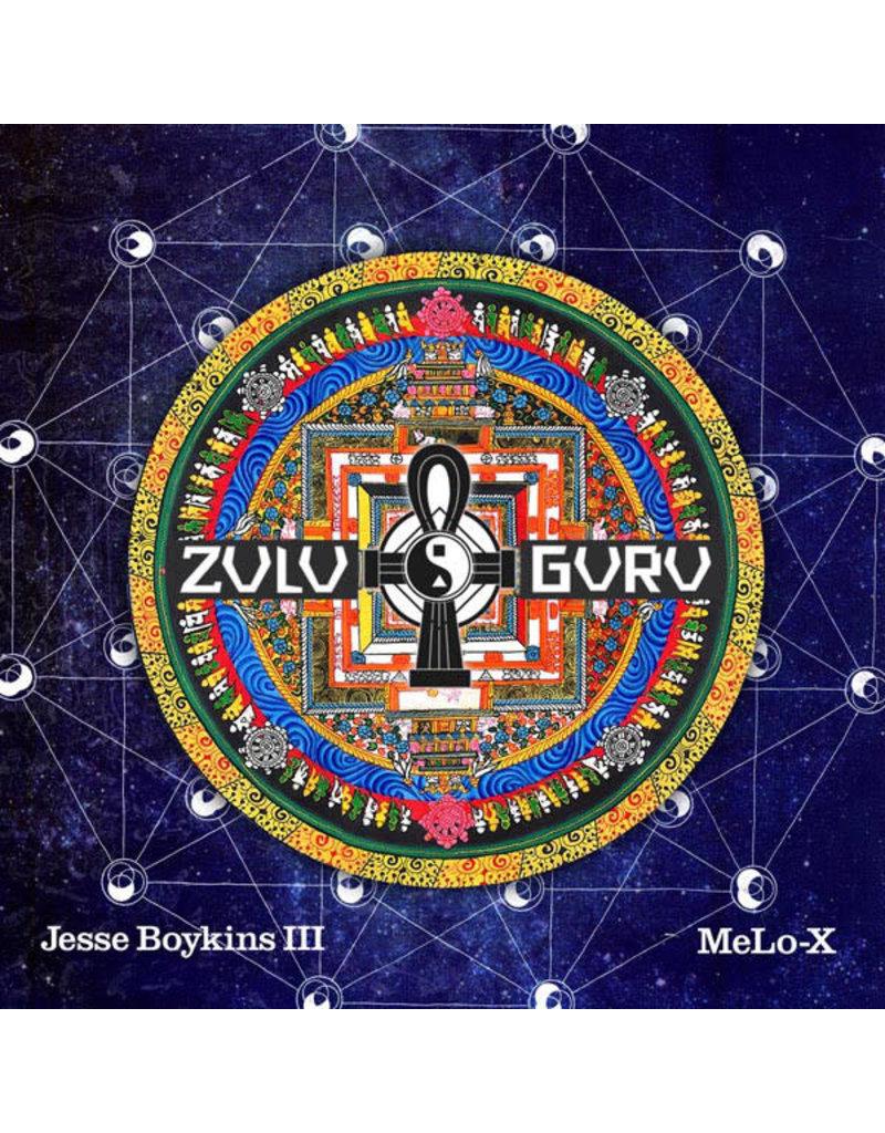 EL Jesse Boykins III & MeLo-X – Zulu Guru  2LP (2012)