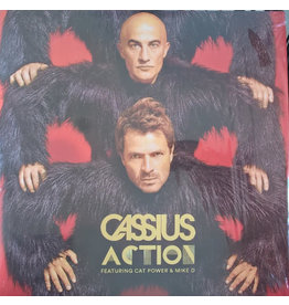 EL Cassius Featuring Cat Power & Mike D ‎– Action 2LP, Limited Edition (2016)
