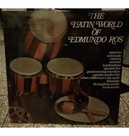Edmundo Ros & His Orchestra ‎– The Latin World Of Edmundo Ros Vol. 2  LP