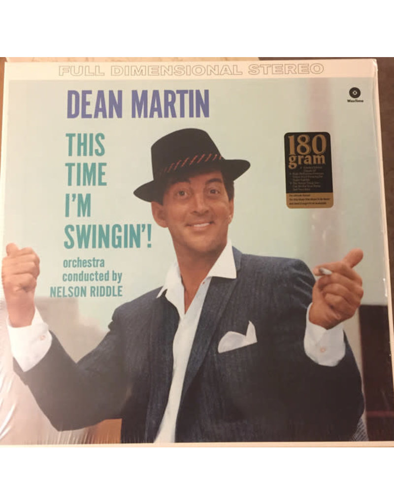 Dean Martin – This Time I'm Swingin'! LP, 180g + Bonus Tracks, 2017 Reissue