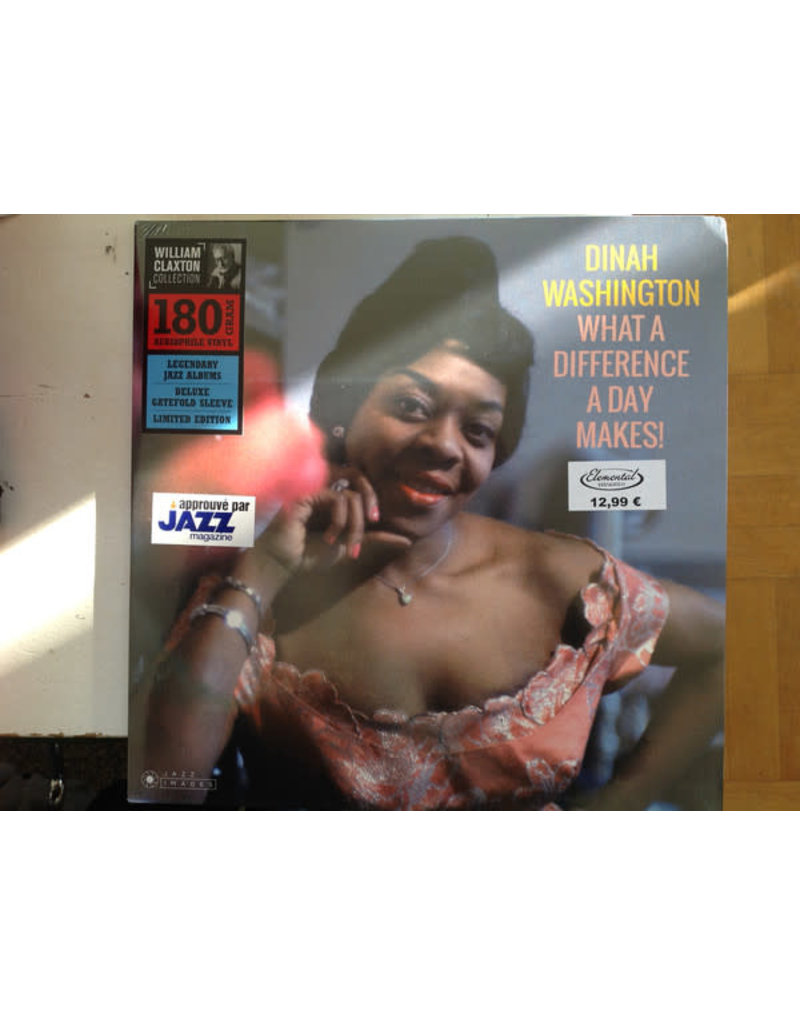 Dinah Washington – What A Difference A Day Makes! LP (2018)