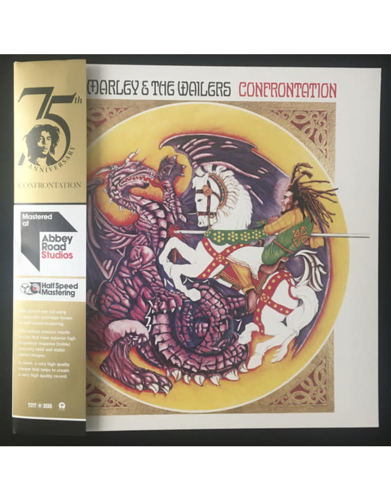 Bob Marley & The Wailers ‎– Confrontation, 2020 Reissue,  Half Speed Remastered