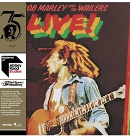 Bob Marley & The Wailers – Live! LP, 2020 Reissue, 180g