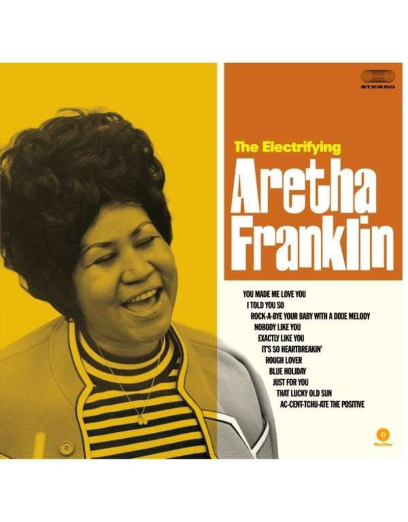FS Aretha Franklin ‎– The Electrifying Aretha Franklin LP, 2015 Reissue