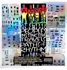 HH A Tribe Called Quest – People's Instinctive Travels And The Paths Of Rhythm 2LP, 2015 Reissue, 25th Anniversary