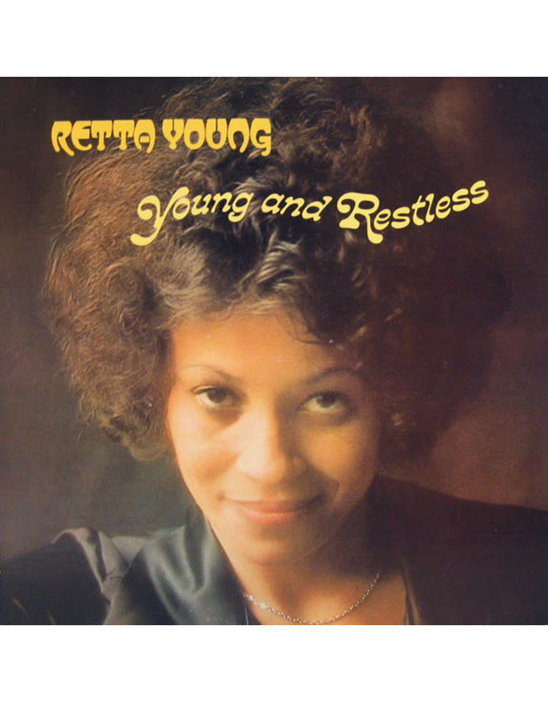 FS Retta Young ‎– Young And Restless LP, 2017 Reissue