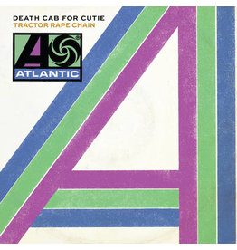 "RK Death Cab For Cutie – Tractor Rape Chain / Black Sun 7"" [RSD2016], White Vinyl"