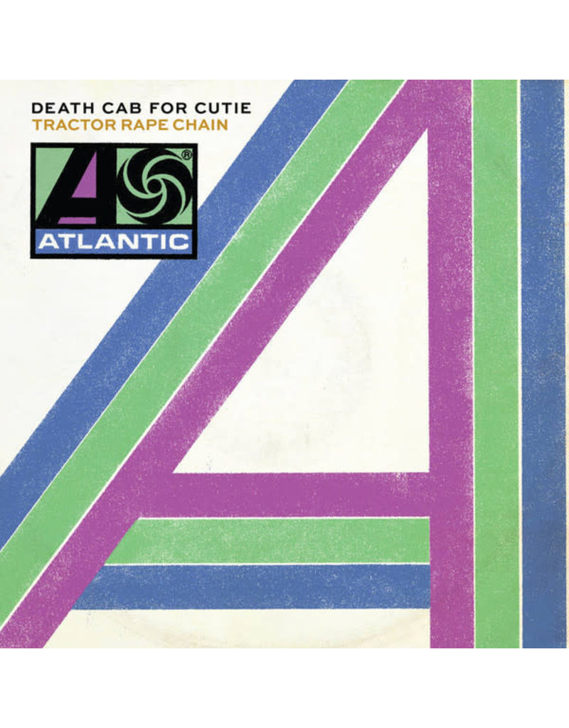 "RK Death Cab For Cutie ‎– Tractor Rape Chain / Black Sun 7"" [RSD2016], White Vinyl"