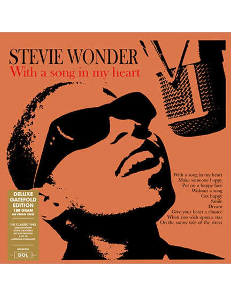 FS Stevie Wonder ‎– With A Song In My Heart, 2018 Reissue