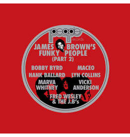 FS Various – James Brown's Funky People (Part 2) 2LP (2017 Compilation)
