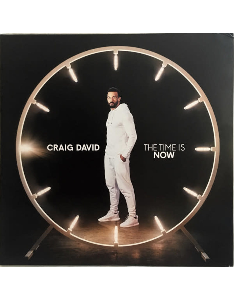 FS Craig David – The Time Is Now 2LP, Deluxe (2018)