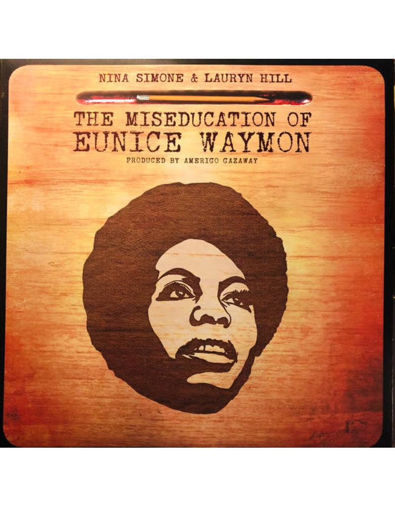 FS - FUNK/SOUL/RAREGROOVE Nina Simone & Lauryn Hill - The Miseducation Of Eunice Waymon (Produced By  Amerigo Gazaway) 2LP