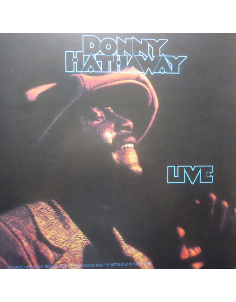 DONNY HATHAWAY - LIVE LP (Music On Vinyl), 180g