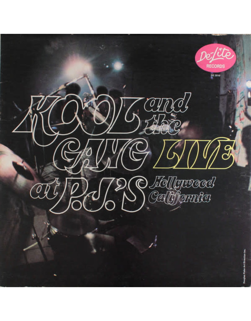 Kool & The Gang ‎– Live At P.J.'s LP