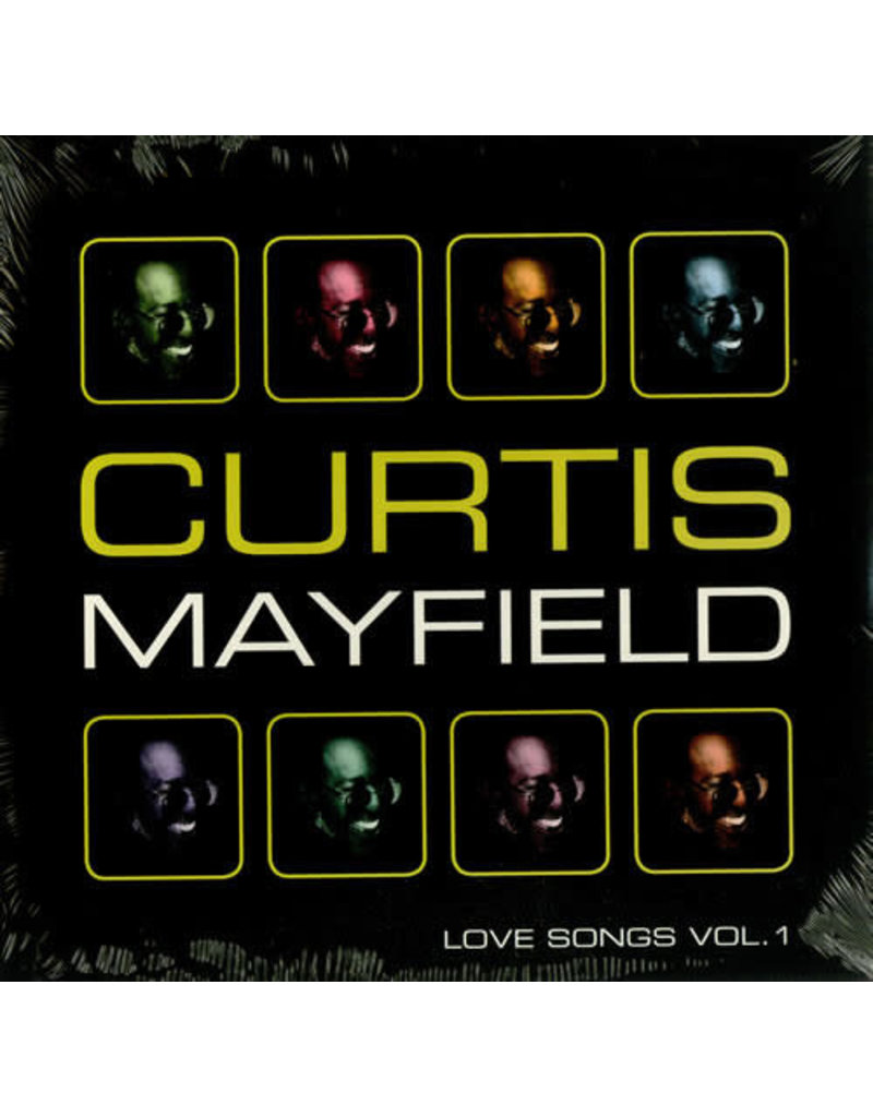 FS Curtis Mayfield – Love Songs Vol. 1 2LP (2008 Compilation)