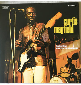 FS Curtis Mayfield Featuring The Impressions – Curtis Mayfield Featuring The Impressions LP (2018 Reissue)