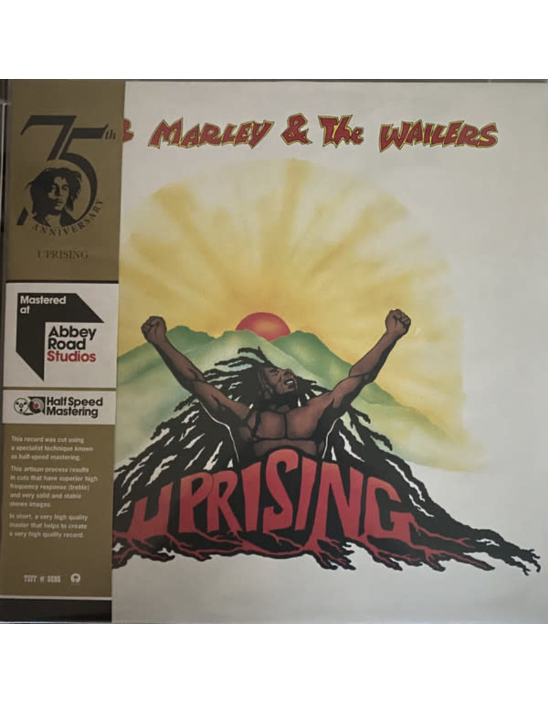 Bob Marley & The Wailers – Uprising LP (2020), Half Speed Mastering