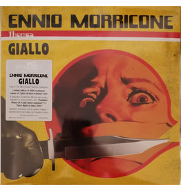 Ennio Morricone – Giallo 2LP (2020), Compilation, Numbered, Yellow [Giallo] And Black Marbled (Music On Vinyl)