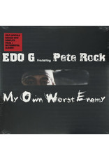 HH Edo G Featuring Pete Rock – My Own Worst Enemy 2LP [RSDBF2018] Reissue, Deluxe Limited Edition