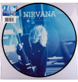 RK Nirvana – Live & Loud - Seattle, WA, 13th December 1993 LP (2016), Picture Disc