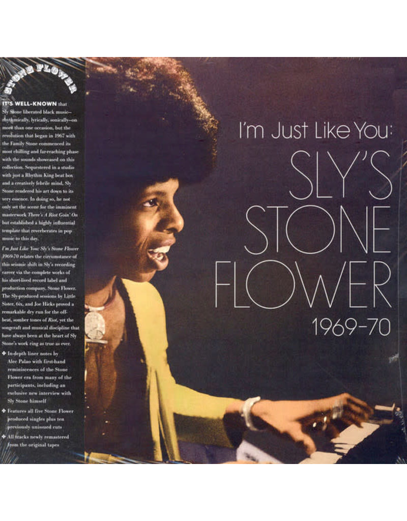 FS Sly Stone ‎– I'm Just Like You: Sly's Stone Flower 1969-70 2LP (2014 Compilation)