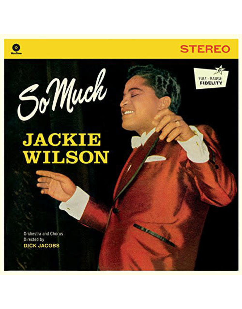 FS Jackie Wilson ‎– So Much LP (2015)