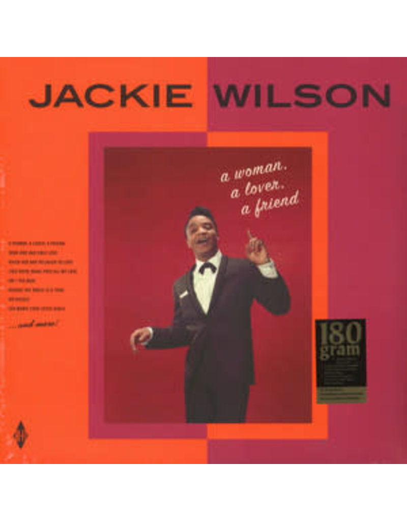 Jackie Wilson – A Woman, A Lover, A Friend LP (2016), Limited Edition