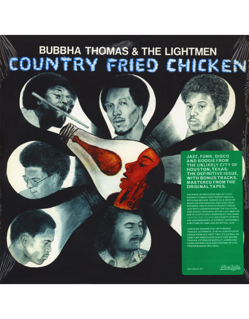 FS Bubbha Thomas & The Lightmen ‎– Country Fried Chicken  2LP (2018 Reissue)