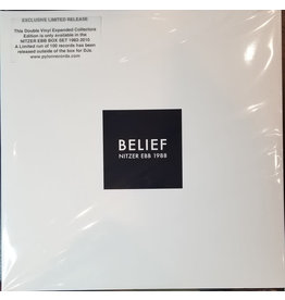 EL Nitzer Ebb – Belief 2LP [RSD2019] Reissue, Limited Edition (White Labelling Sticker)