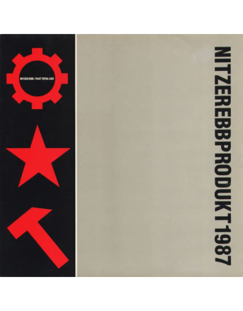 EL Nitzer Ebb – That Total Age 2LP [RSD2019], Limited Edition, Red Transparent