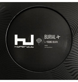 "DS Burial ‎– Young Death / Nightmarket 12"" (2016)"