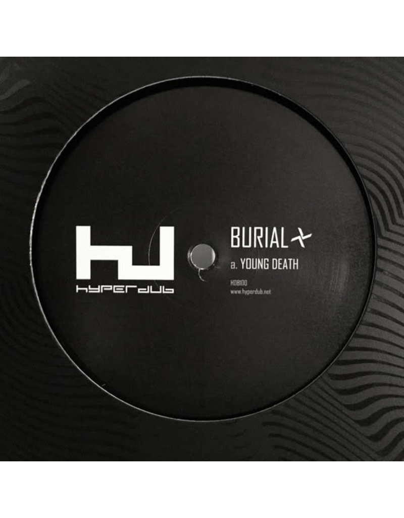 """DS Burial – Young Death / Nightmarket 12"""" (2016)"""
