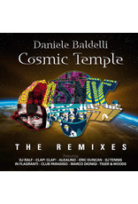 "EL Daniele Baldelli – Cosmic Temple (The Remixes) 2x12"" (2018 Compilation), Limited Edition"