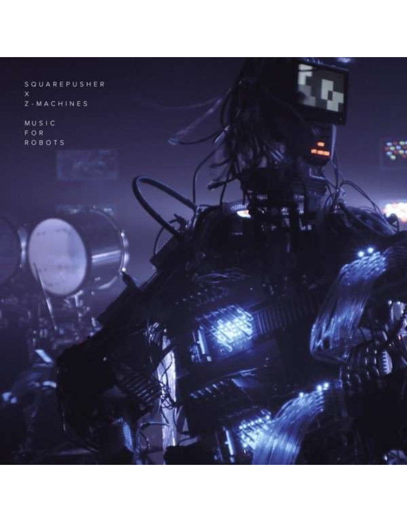 "AB Squarepusher X Z-Machines ‎– Music For Robots 12"" (2014)"