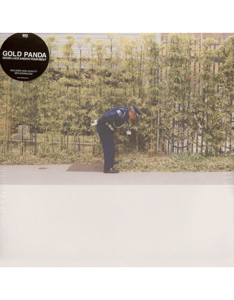 EL Gold Panda – Good Luck And Do Your Best LP (2016), 180g